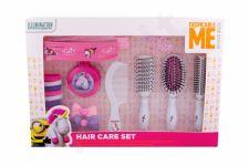 Minions, Unicorns, rinkinys plaukų šepetys vaikams, (Complete Hair Care Kit)