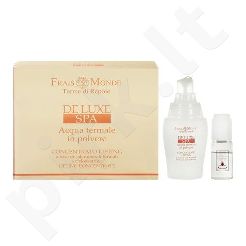 Frais Monde Deluxe Spa Lifting Concentrate rinkinys moterims, (40 ml Natural active gelis + 10 ml Water + 1 g Thermal mineral salts)