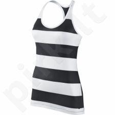 Marškinėliai Nike Get Fit Rugby Stripe Tank W 648557-010