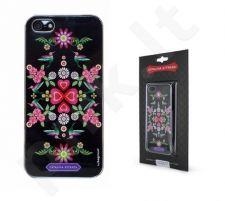 Apple iPhone 5 dėklas Catalina juodas