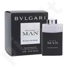 Bvlgari Man Black Cologne, EDT vyrams, 15ml