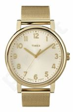Laikrodis TIMEX ORIGINALS T2N598 - STAINLESS STEEL - INDIGLO - MINERAL GLASS - - 30 METERS T2N598