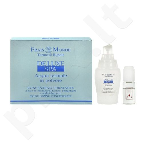 Frais Monde Deluxe Spa Moisturizing Concentrate rinkinys moterims, (40 ml Natural active gelis + 10 ml Water + 1 g Thermal mineral salts)