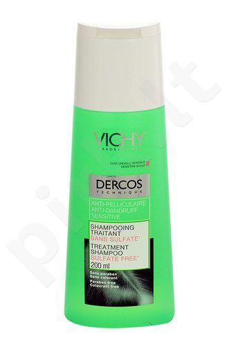 Vichy Dercos šampūnas Anti Dandruff Sensitive, kosmetika moterims, 200ml