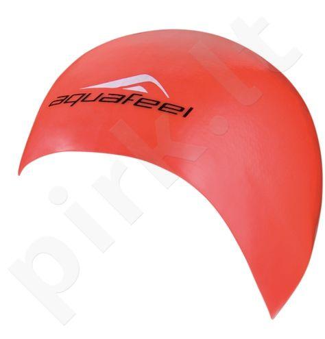 Kepuraitė plaukimui AQF silikoninė 3046 40 red