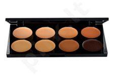 Makeup Revolution London Cover & Conceal Palette, kosmetika moterims, 10g, (Medium-Dark)