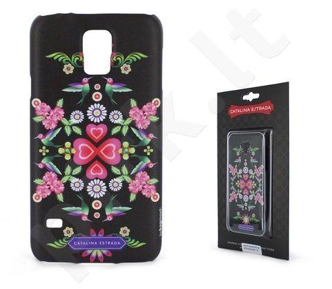 Samsung Galaxy S5 dėklas Catalina juodas
