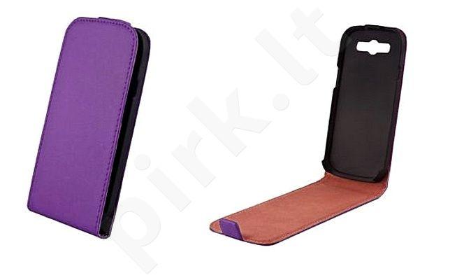 Samsung Galaxy Core dėklas ELEGANCE Forever violetinis