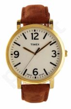Laikrodis TIMEX ORIGINALS T2P527 - BRASS - oda/CUOIO - MINERAL GLASS - - 30 METERS T2P527