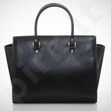 Felice Lindo M03 - eko odos  juoda elegantiška rankinė, moterims