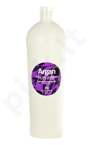 Kallos Argan Colour Hair kondicionierius, kosmetika moterims, 1000ml
