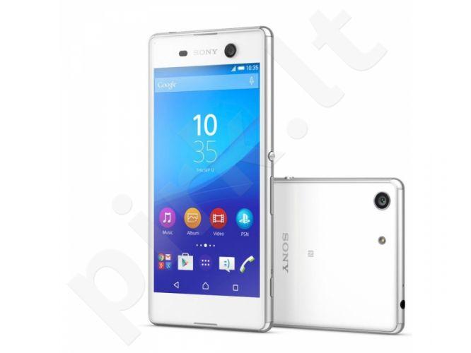 Telefonas Sony Xperia M5 SS E5603 4G baltas