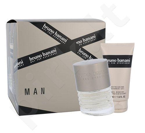 Bruno Banani Man rinkinys vyrams, (EDT 30 ml + dušo želė 50 ml)