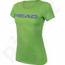 Marškinėliai tenisui Head Transition Lucy T-shirt W 814576-GNVI