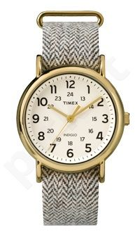 Laikrodis TIMEX WEEKENDER TW2P71900 - STAINLESS STEEL - TEXTIL - MINERAL GLASS - INDIGLO - - 30 METERS TW2P71900