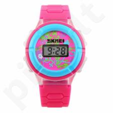 Vaikiškas laikrodis SKMEI 1097 ROSE RED Vaikiškas laikrodis