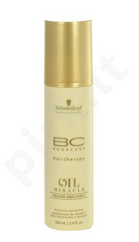 Schwarzkopf BC Bonacure Oil Miracle Volume Amplifier 5 Fine, kosmetika moterims, 100ml