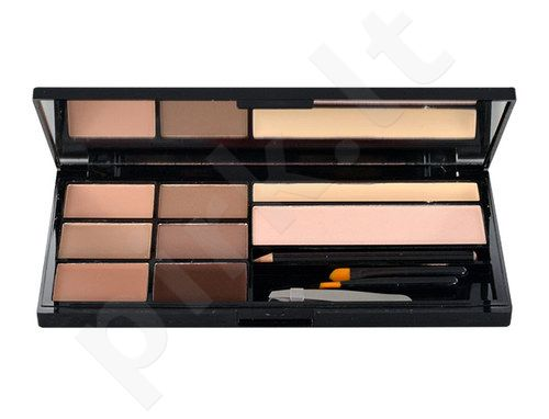 Makeup Revolution London Ultra Brow Palette, kosmetika moterims, 18,98g, (Fair To Medium)