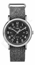 Laikrodis TIMEX WEEKENDER TW2P72000 - STAINLESS STEEL - TEXTIL - MINERAL GLASS - INDIGLO - - 30 METERS TW2P72000