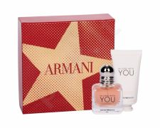 Giorgio Armani In Love With You, Emporio Armani, rinkinys kvapusis vanduo moterims, (EDP 30 ml + rankų kremas 50 ml)