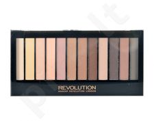 Makeup Revolution London Essential Mattes 2, Redemption Palette, akių šešėliai moterims, 14g