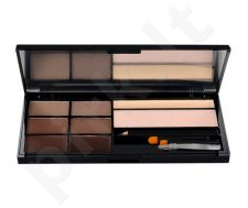 Makeup Revolution London Ultra Brow Palette, kosmetika moterims, 18,98g, (Medium To Dark)