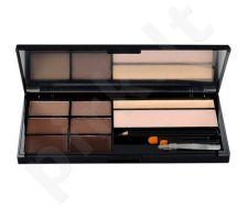 Makeup Revolution London Ultra Brow Palette, kosmetika moterims, 18,98g, (Medium To Dark)