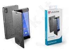 Sony Xperia Z3 dėklas BOOK ESSEN Cellular juodas