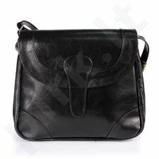 DAN-A T199 juoda rankinė iš natūralios odos