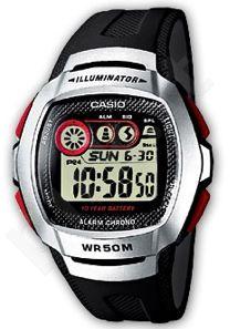 Laikrodis CASIO W-210-1D . chronografas. wr50 **ORIGINAL BOX**