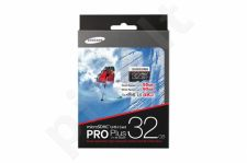Samsung memory card PRO+ microSDHC 32GB Class 10 UHS-I Read:Write (95/90MB/s)