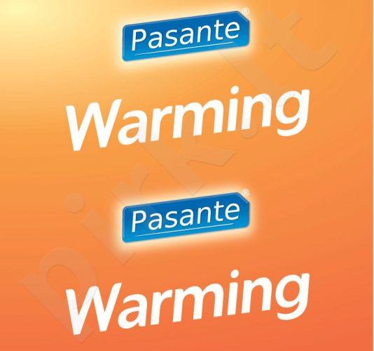 Šildantys prezervatyvai Pasante (1 vnt.)