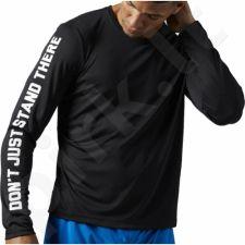 Marškinėliai bėgimui  Reebok Running Essentials Long Sleeve M AJ0319
