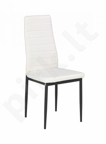 Kėdė K70, baltos/juodos sp.