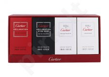 Cartier Mini set rinkinys vyrams, (EDT Declaration 4 ml + EDT Declaration d´Un Soir 4 ml + EDT EDT Eau de Cartier 5 ml + EDT Eau de Cartier Concentree 5 ml)