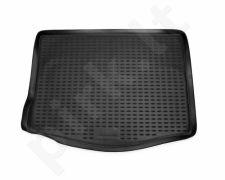 Guminis bagažinės kilimėlis FORD Focus hb 2004-2010 (full-size wheel)  black /N14018