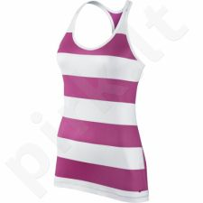 Marškinėliai Nike Get Fit Rugby Stripe Tank W 648557-612