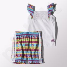 Komplektas Adidas Girls Beach Set Kids S17165