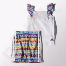 Komplektas Adidas Girls Beach Set Kids S17165