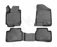 Guminiai kilimėliai 3D KIA Ceed 2006-2012, 4 pcs. /L38004G /gray