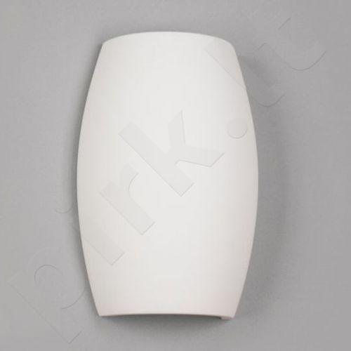 Sieninis šviestuvas gipsinis 10-BARYŁKA GŁADKA