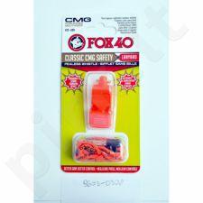 Švilpukas FOX CMG Classic Safety + virvutė 9603-0308 oranžinis