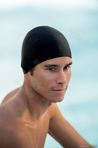 Kepuraitė plaukimui Mens Swim 80PA20E 3252 20 black