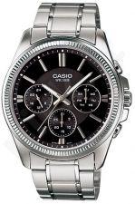 Laikrodis CASIO MTP-1375D-1 chronometras WR 50mt **ORIGINAL BOX**