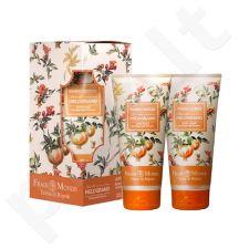 Frais Monde Pomegranate Flowers Gift Duo kūno priežiūros rinkinys moterims, (kūno kremas 200 ml + vonios putos 200 ml)