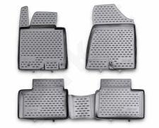Guminiai kilimėliai 3D KIA Ceed 2012->, 4 pcs. /L38030G /gray