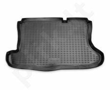 Guminis bagažinės kilimėlis FORD Fusion 2002-2012 black /N14021