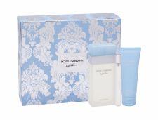 Dolce&Gabbana Light Blue, rinkinys tualetinis vanduo moterims, (EDT 100 ml + kūno kremas 75 ml + EDT 10 ml)