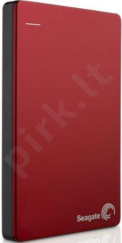 Išorinis diskas Seagate Backup Plus, 2.5', 1TB, USB 3.0, Raudonas