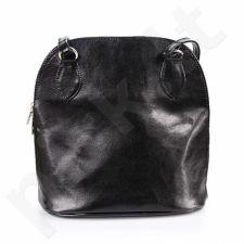 DAN-A T247 juoda rankinė iš natūralios odos